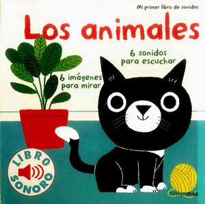 MI PRIMER LIBRO DE SONIDOS: LOS ANIMALES