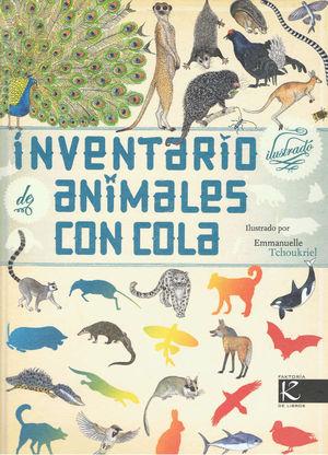 INVENTARIO DE ANIMALES CON COLA ILUSTRADO