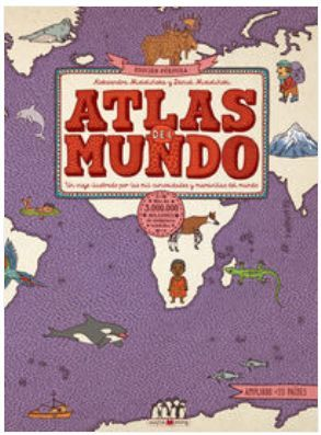 ATLAS DEL MUNDO. EDICION PURPURA
