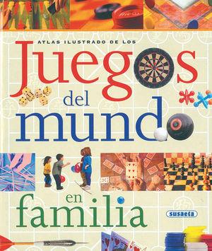 ATLAS ILUSTRADOS DE LOS JUEGOS DEL MUNDO EN FAMILIA