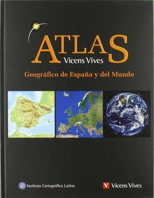 ATLAS GEOGRÁFICO DE ESPAÑA Y EL MUNDO