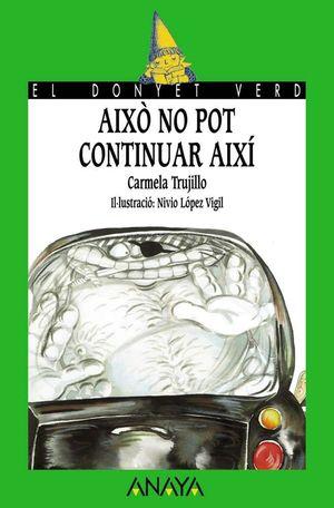 AIXÒ NO POT CONTINUAR AIXÍ