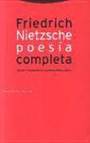 POESÍA COMPLETA (1869-1888) NIETZSCHE