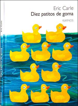 DIEZ PATITOS DE GOMA