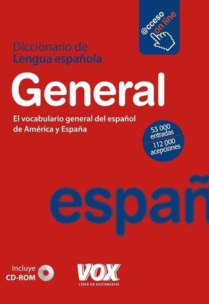 DICCIONARIO DE LENGUA ESPAÑOLA: GENERAL